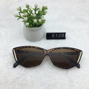 Leopard Frame Sunnies Brown Lens Sunglasses